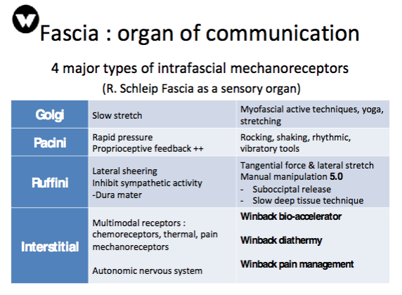fascia technique