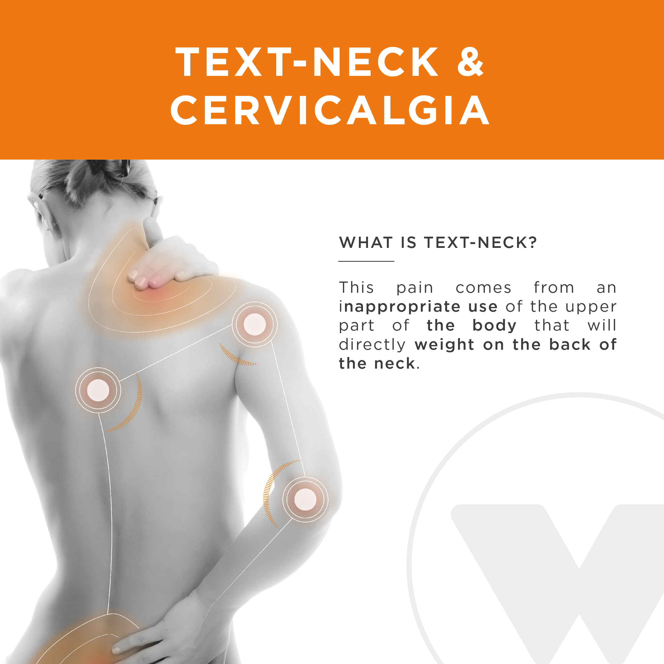 Cervicalgias text-neck